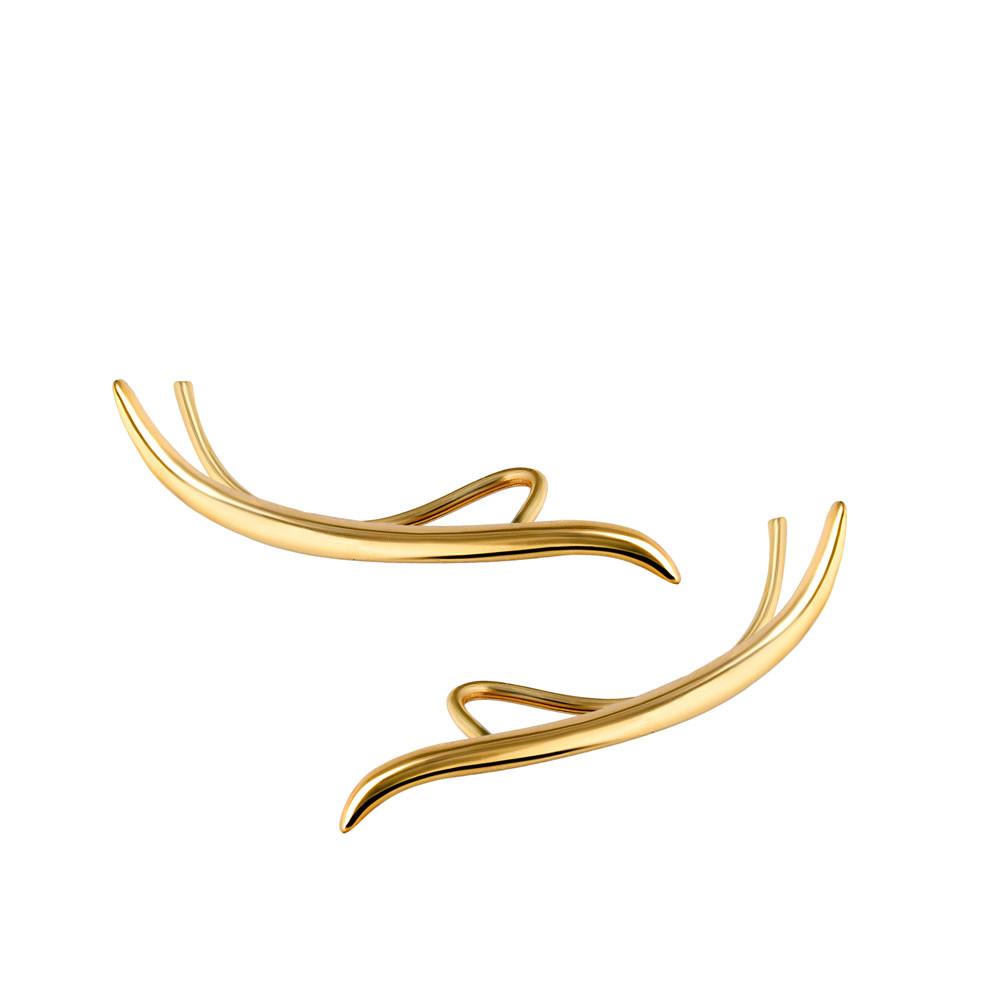 Nausznice złote, pr.585
