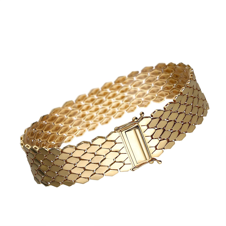 Unikatowa ruchoma bransoleta złota z kolekcji OCH! Premium, próba 585